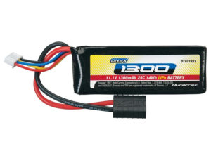 11.1V 1300mAh 3S Cell 25C Onyx LiPo Battery Pack w/ Traxxas High Current Connector