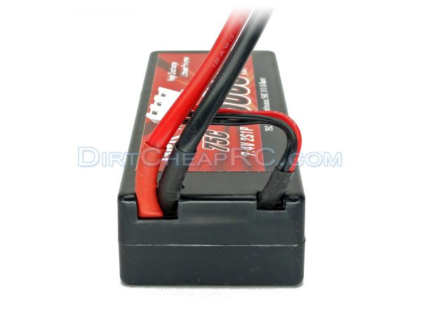 7.4V 5000mAh 2S Cell 75C-150C HardCase LiPo Battery Pack w/ Genuine Traxxas High Current Connector