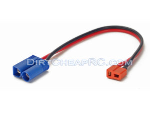 Deans Ultra (T-Plug) Female to EC5 Connector: Charger Lead/Cable/Wires Adapter