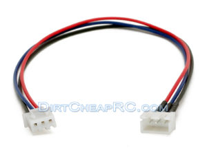 2S JST-XH Balance Lead Wire Extension: For Balance Boards