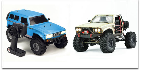 Cross RC Rock Crawler Combo – Free LiPo Battery, Charger and LiPo Safe Bag