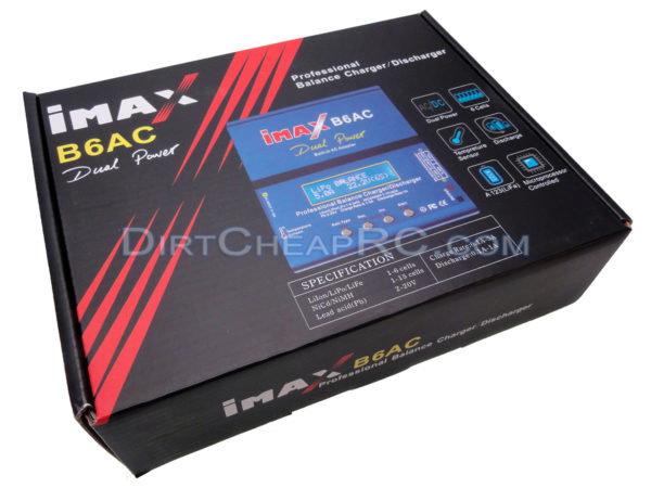 NiMh AC/DC Balancing Battery Charger