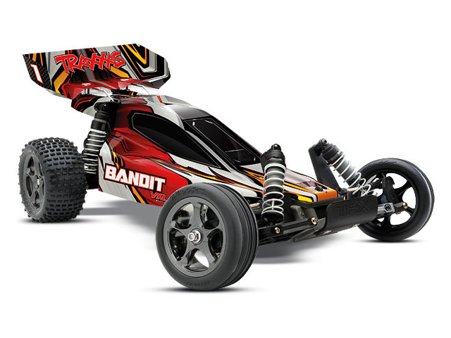 Bandit VXL Brushless w/ 2.4Ghz TQi Radio & 8.4V Nimh Battery & Charger - 1/10 Scale RTR 2WD Buggy