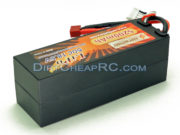 18.5V 5200mAh 5S Cell 50C-100C HardCase LiPo Battery Pack w/ Deans Ultra Connector